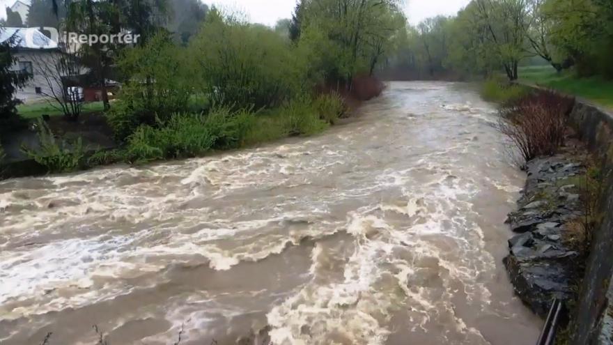 Video Řeka Olše na Jablunkovsku