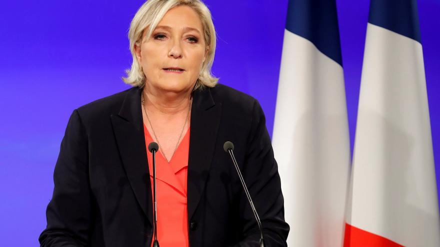 Video Povolební projev Marine Le Penové