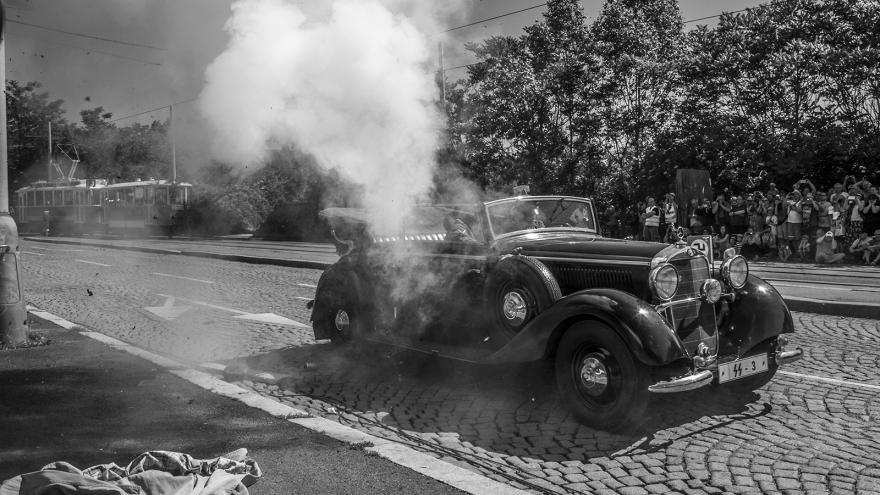 Video Mimořádné pořady ČT24 - Rekonstrukce atentátu na R. Heydricha