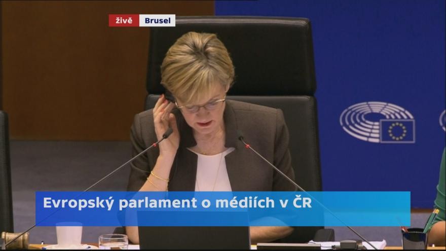 Video Záznam debaty v EP o politickém zneužívání médií v ČR