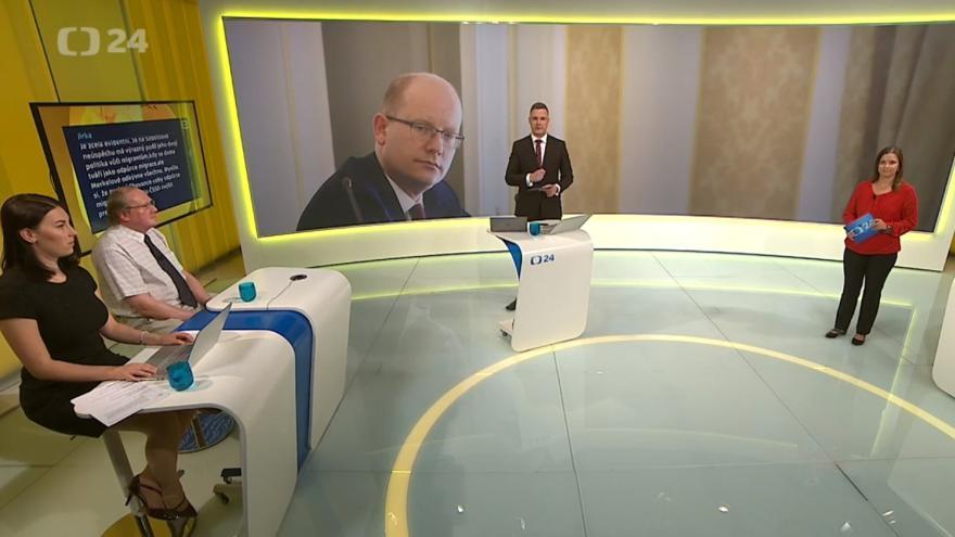 Video 90' ČT24 - Zemětřesení v čele ČSSD
