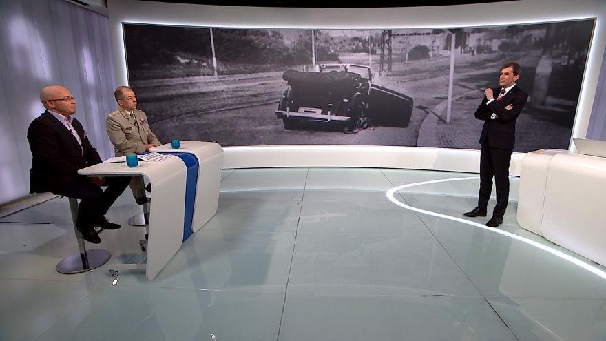 Video Mimořádné pořady ČT24 - Poslední boj parašutistů