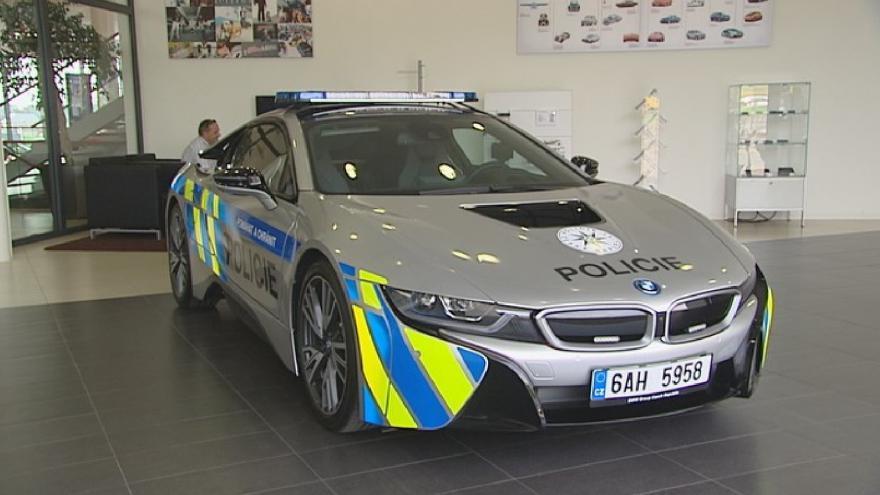 Video Nové policejní BMW
