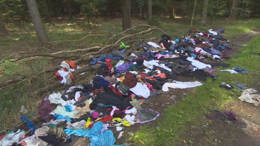Video Šetřiví Němci k nám vozí do lesů své odpadky