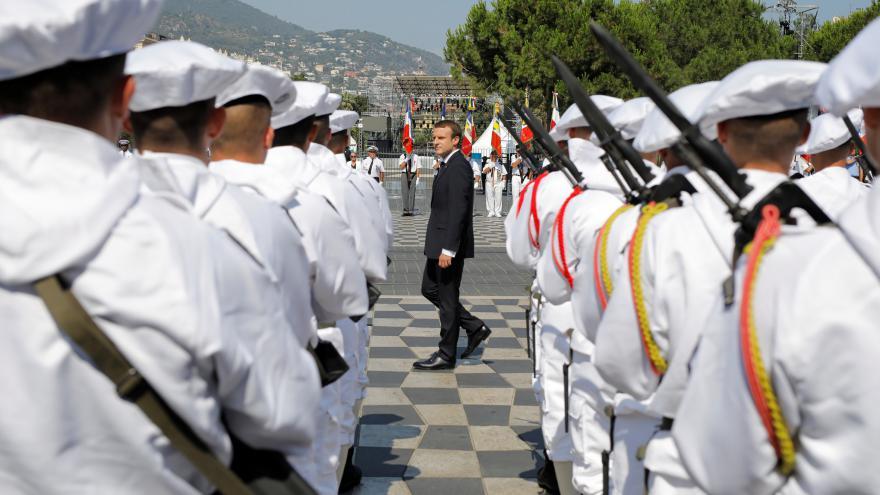 Video Přímý přenos: Pietní akt v Nice