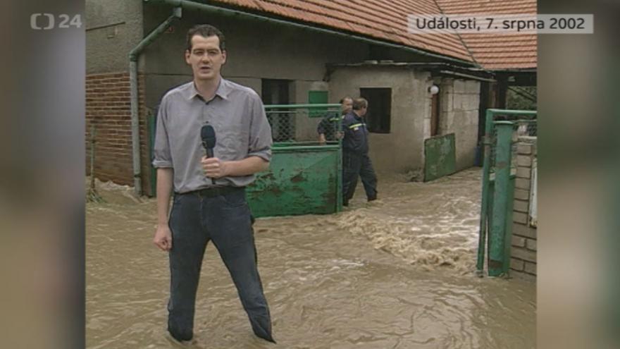 Video Povodně 7. srpna 2002: Události