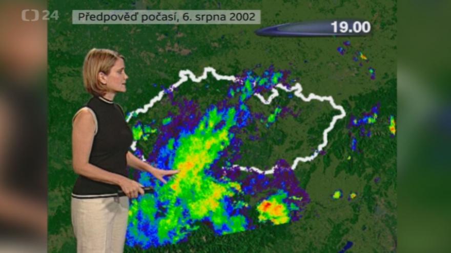 Video Povodně 6. srpna 2002: Předpověď počasí