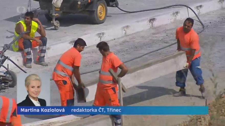 Video Martina Koziolová ke stavu silnice I/68