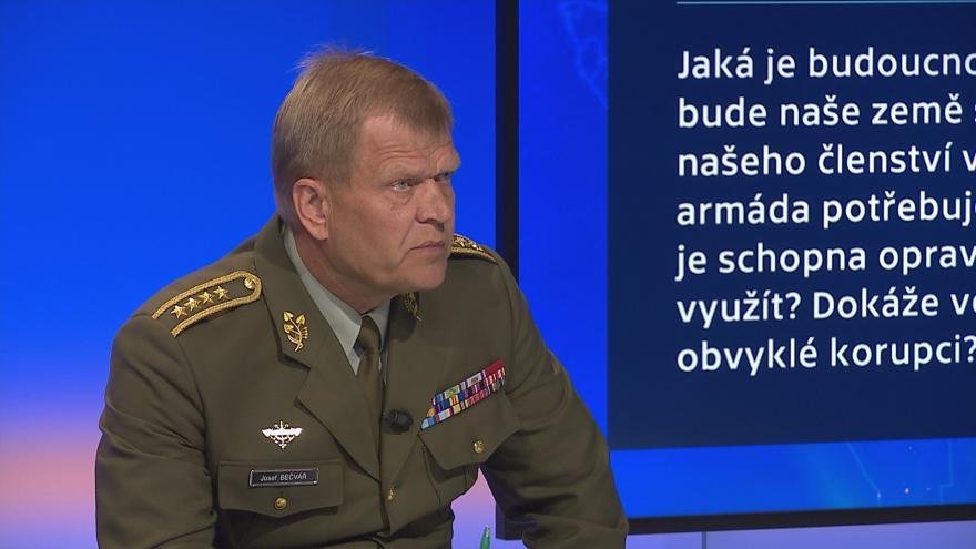 Video 90' ČT24 - Stav a budoucnost české armády