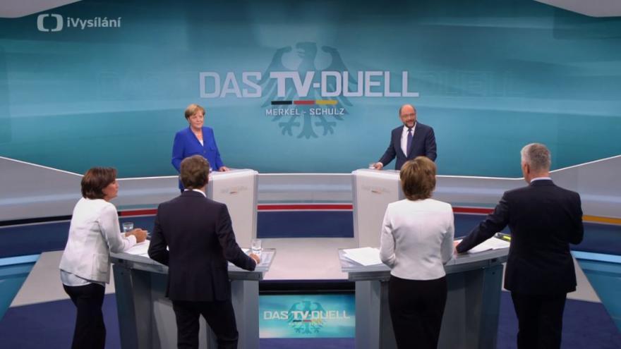 Video Předvolební debata v Německu