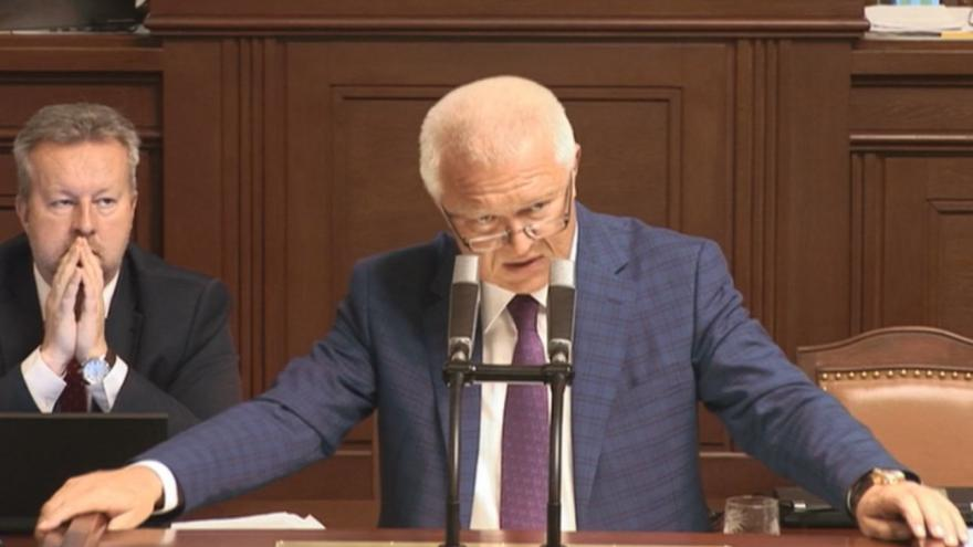 Video Vystoupení Jaroslava Faltýnka ve sněmovně