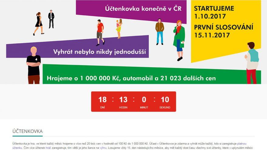 Do Uctenkove Loterie Se Uz Registrovalo 70 Tisic Lidi Aplikaci