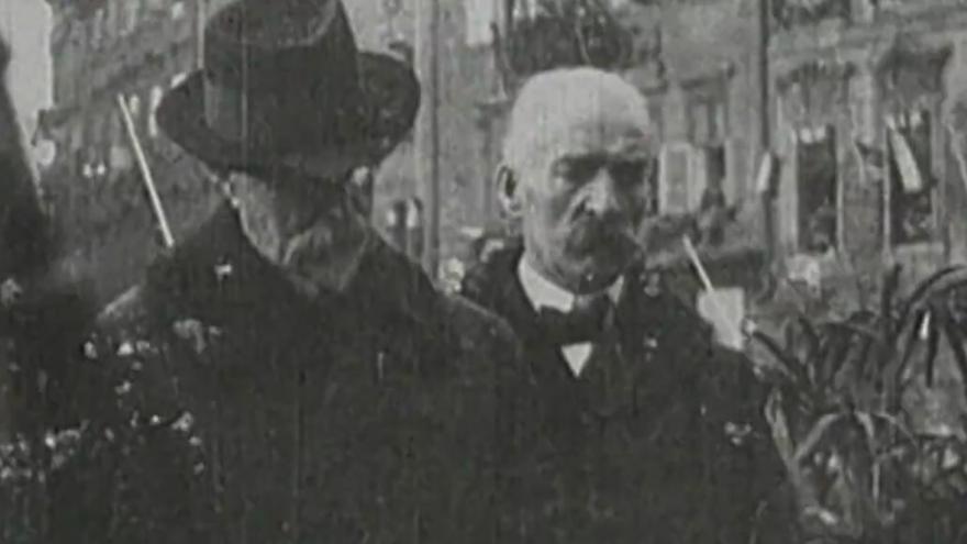 Video BEZ KOMENTÁŘE: záběry z Masarykova triumfálního návratu