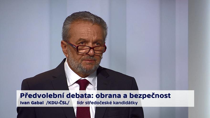 Video Gabal, Černý a Černochová o budoucnosti ČR v NATO