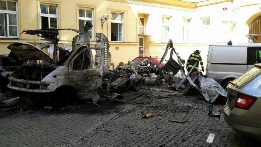 Video Výbuch na rektorátu univerzity