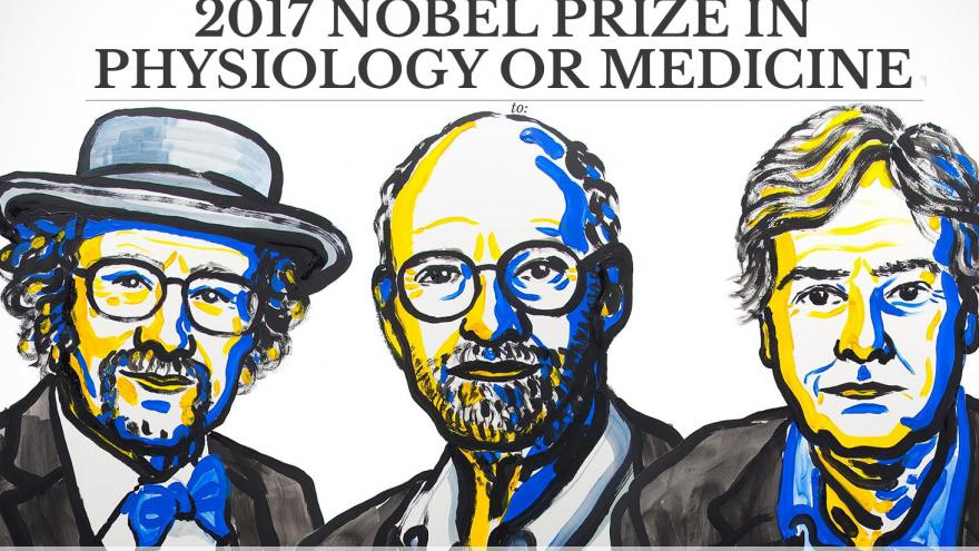 Video Nobelovu cenu za lékařství a fyziologii 2017