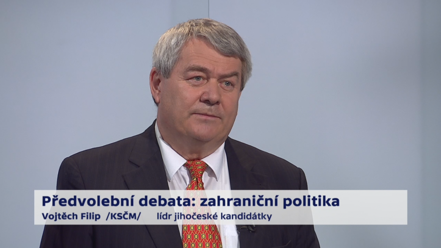 Video Filip o prioritách zahraniční politiky ČR