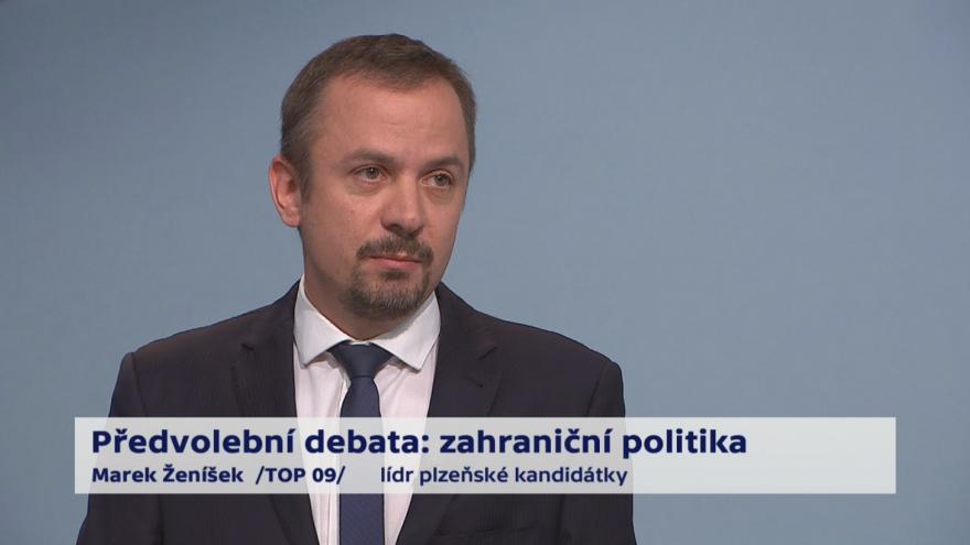 Video Ženíšek o prioritách zahraniční politiky ČR