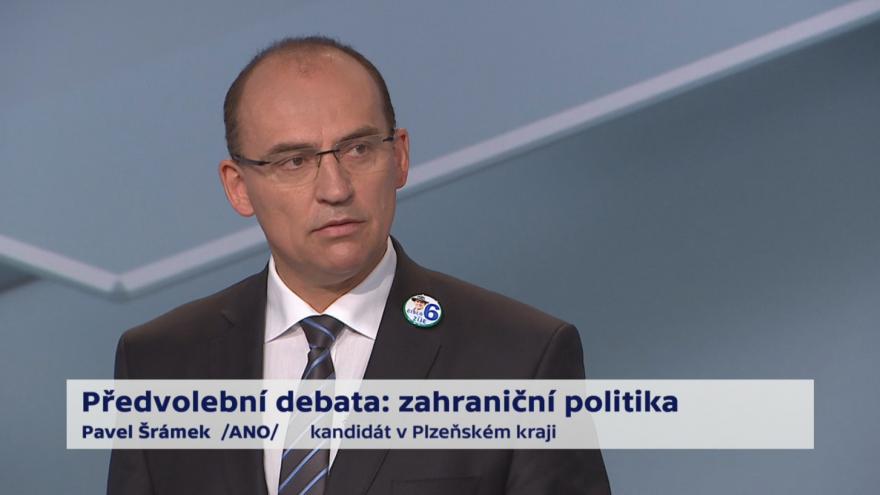 Video Šrámek o prioritách zahraniční politiky ČR