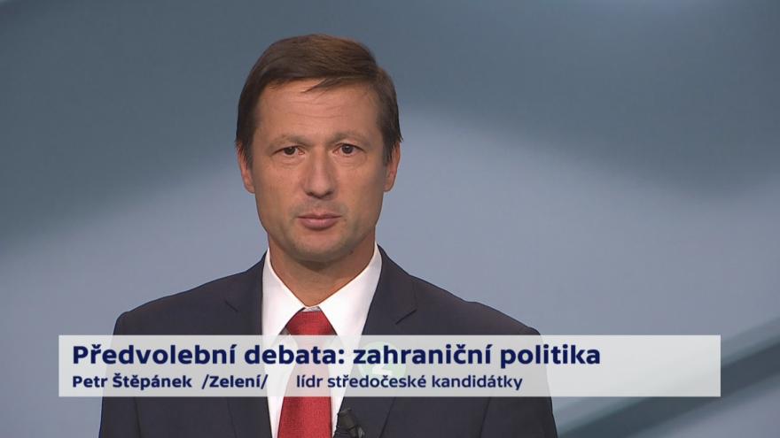 Video Štěpánek o prioritách zahraniční politiky ČR