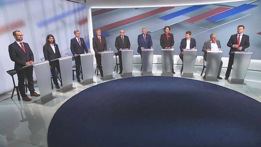 Video Kandidáti o projevu Miloše Zemana před Radou Evropy