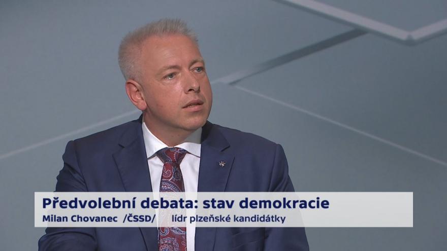 Video Chovanec, Farský a Grospič o referendu a služebním zákonu