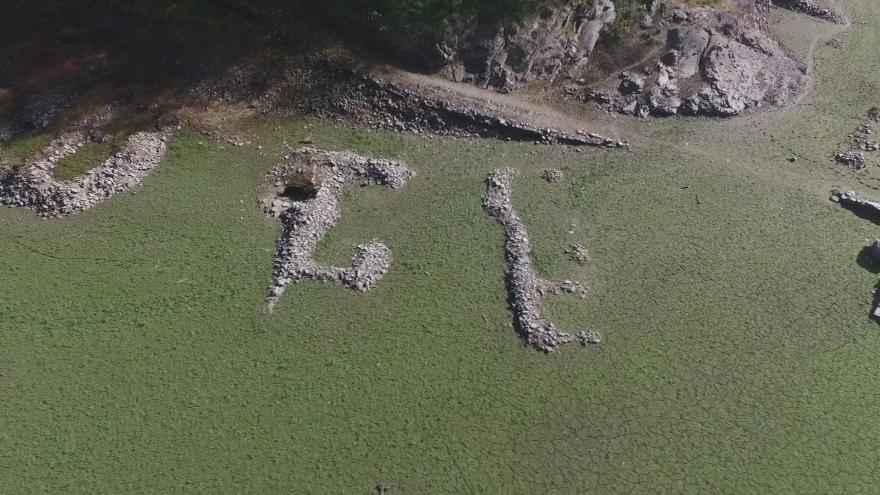 Video UDÁLOSTI: Objevily se základy zbořené vesnice Bítov