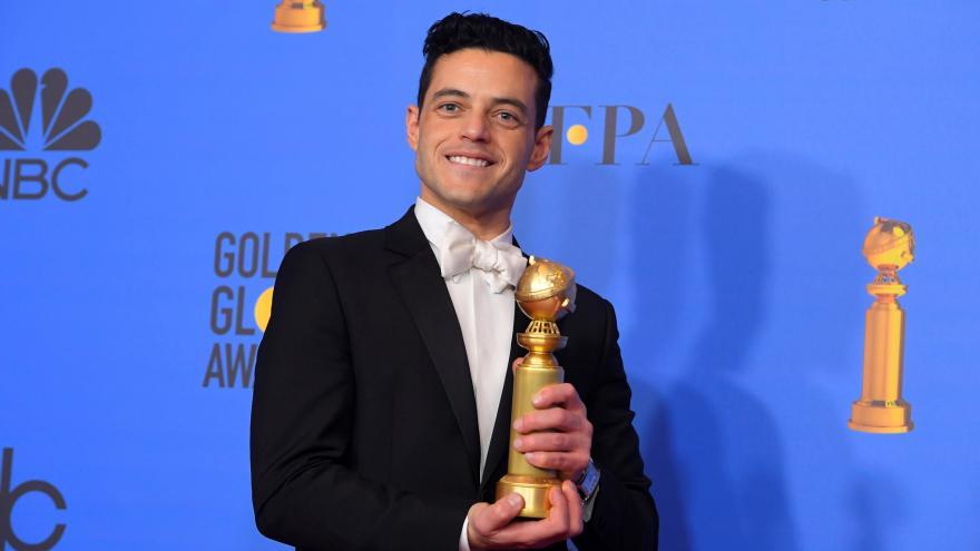 """Dva Zlaté glóby pro Bohemian Rhapsody. Lady Gaga získala sošku """"jen"""" za  nejlepší píseň — ČT24 — Česká televize 587b206e3fb"""