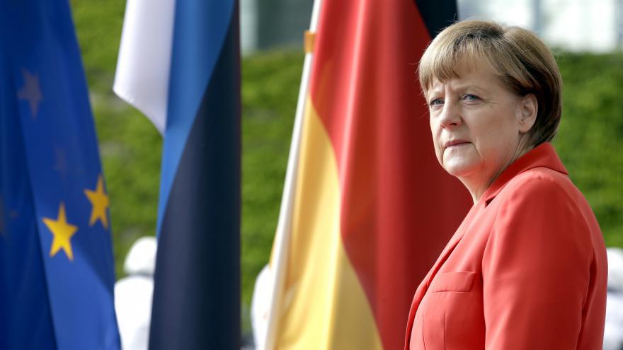 Video Merkelová: Evropa je silnější, budoucnosti se nebojím
