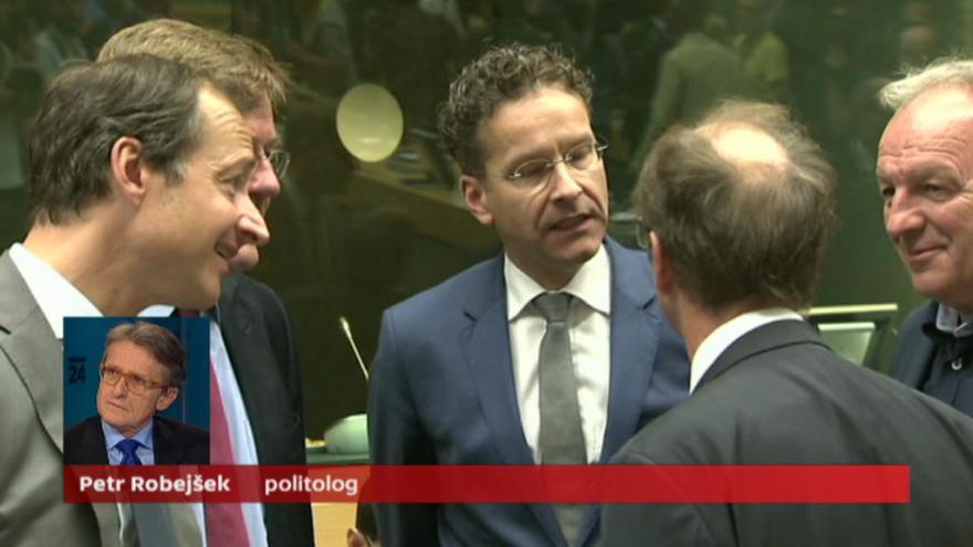 Video Robejšek: Rozhodnutí bude politické, ekonomicky je Řecko v bankrotu