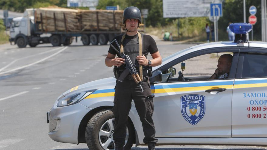 Video Na Ukrajině zatkli dva ozbrojence z Mukačeva