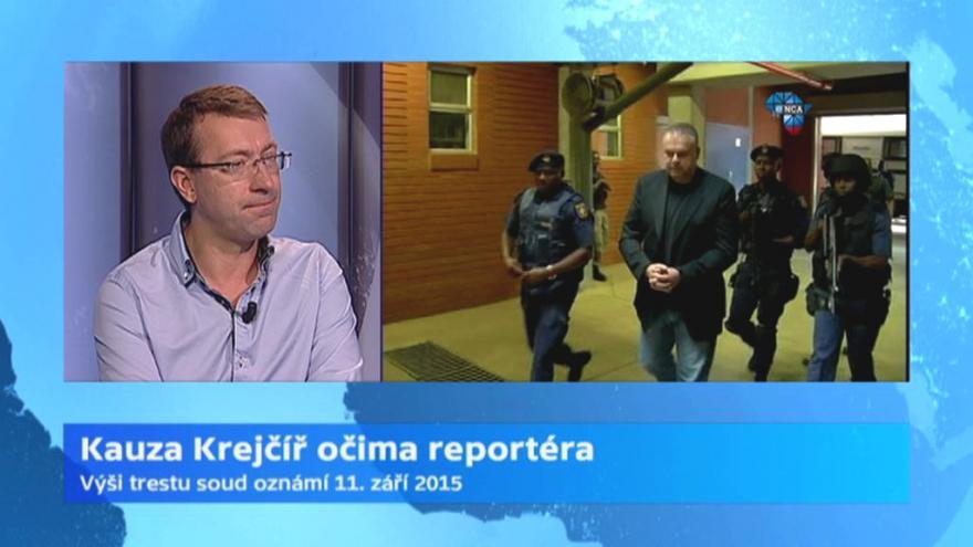 Video Redaktor ČT Hynek: Atmosféra u soudu s Krejčířem byla napjatá