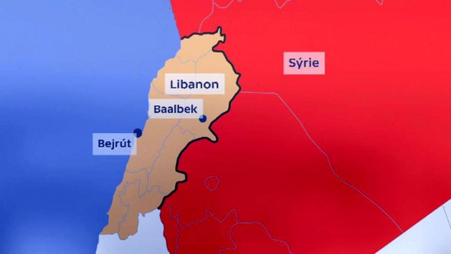 Video Syrská válka vyhání turisty z Libanonu