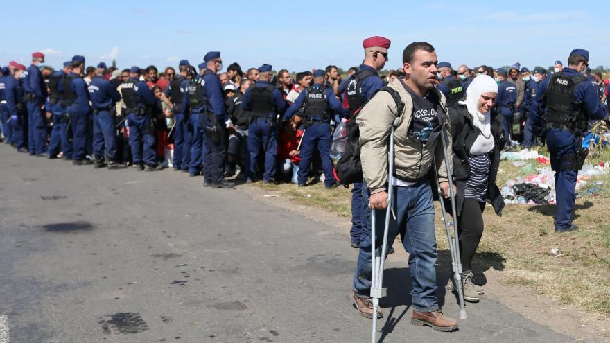 Video Debata evropských politiků o uprchlíckých kvótách