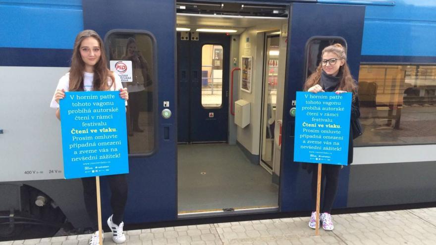 Video Začal druhý ročník festivalu Čtení ve vlaku