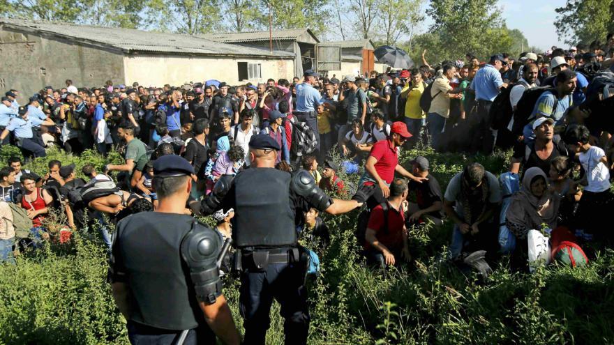 Video Zpravodaj ČT Karel Rožánek o situaci v chorvatském Tovarniku