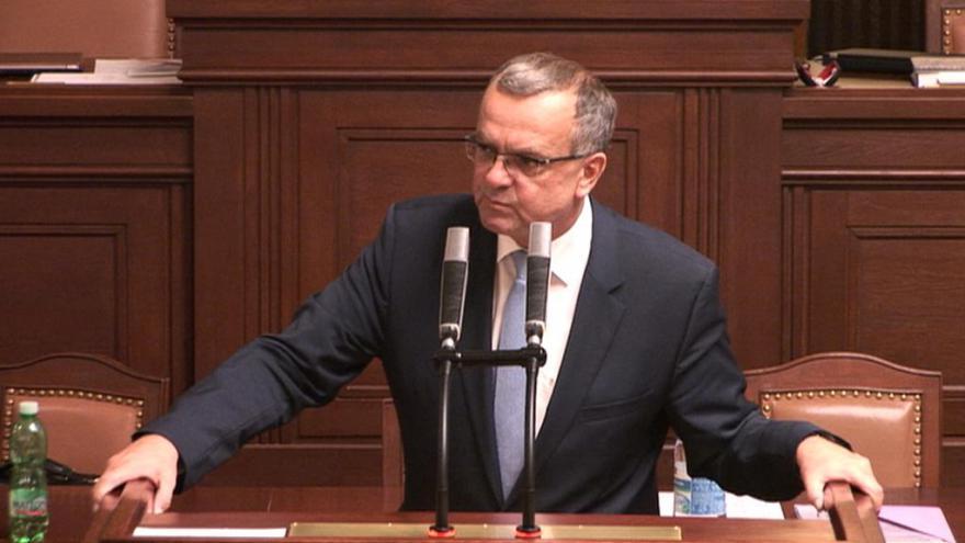 Video Kalouskovo vystoupení v Poslanecké sněmovně