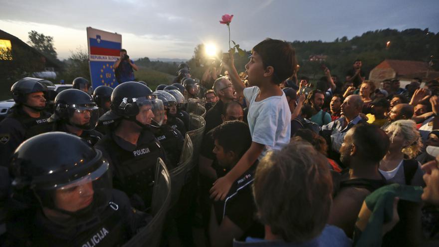 Video Rožánek: Chorvatská policie se chová velmi korektně