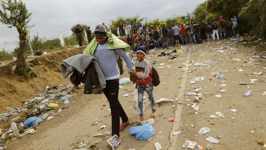 Video Na hranici Srbska a Chorvatska pomáhá Člověk v tísni