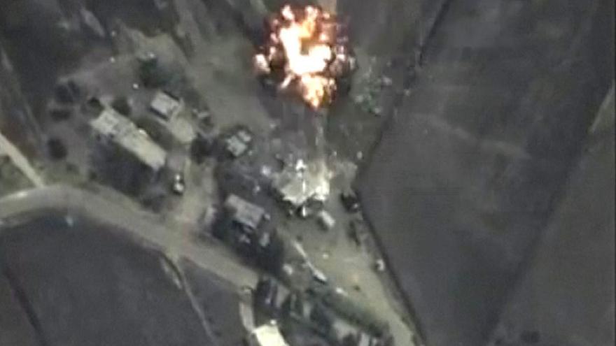 Video Události, komentáře k ruskému vojenskému zásahu v Sýrii