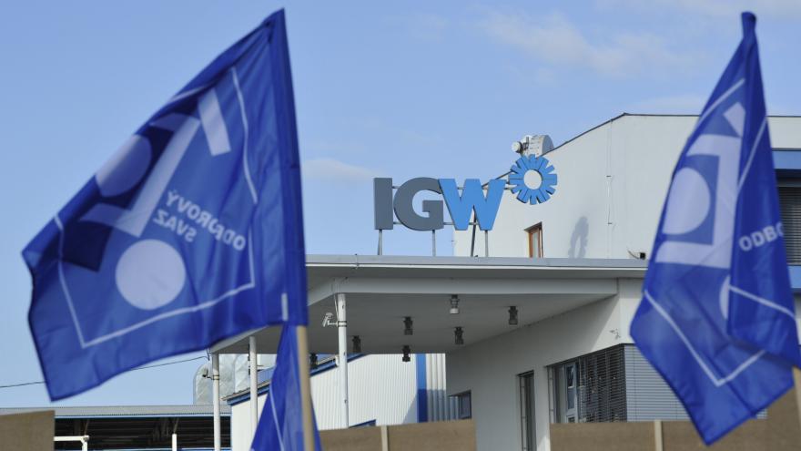 Video Studio 6 - Zaměstnanci IGW ve stávce