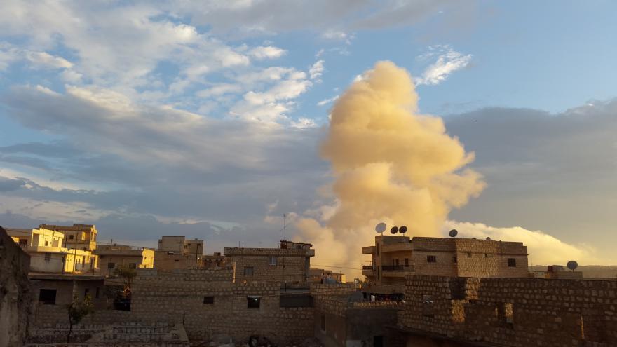 Video Oběti ruských náletů v Sýrii