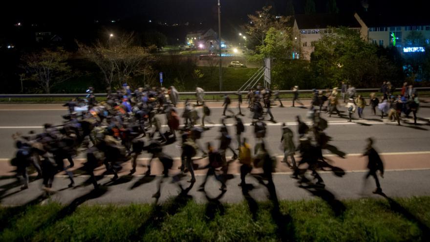 Video Slovinsko žádá EU o pomoc s migranty