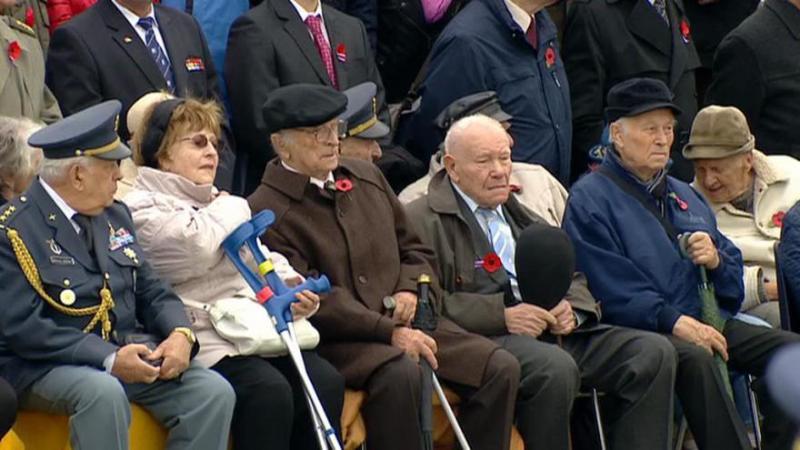 Video Pietní akt na Vítkově ke Dni válečných veteránů