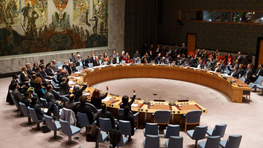 Video Rada bezpečnosti OSN jednohlasně vyzvala k zesílení boje proti IS