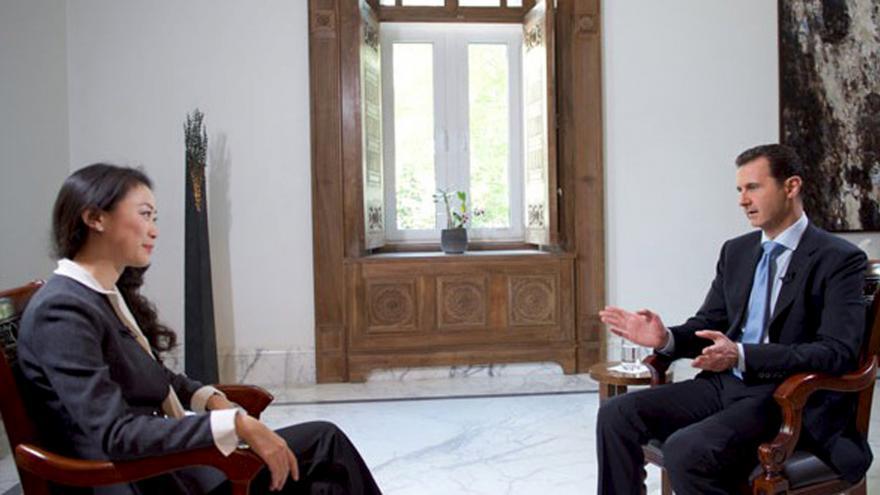 Video Speciál ČT24 k rozhovoru s Bašárem Asadem
