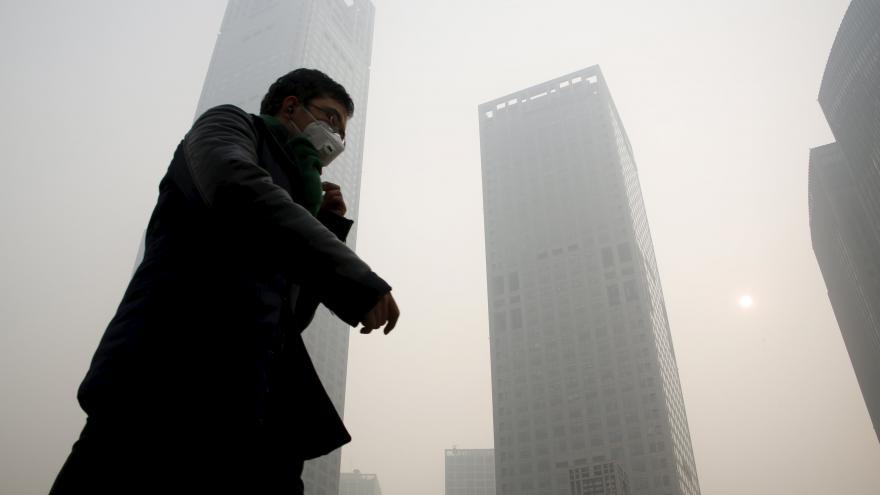 Video Nebezpečný smog v Pekingu
