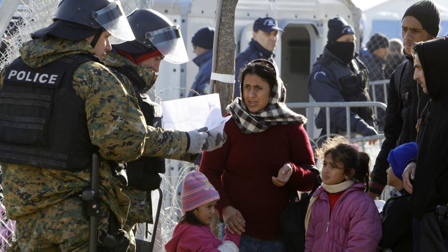 Video Zpravodaj ČT: Situace na makedonsko-řecké hranici je klidnější