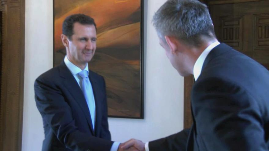 Video Bašár Asad: Děláme chyby, jako všichni