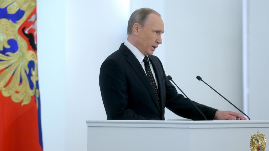 Video Rusista Dvořák: Putinův projev byl kratší než obvykle
